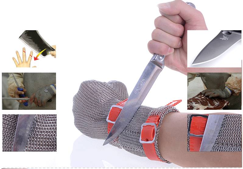 Sell Top quality metal mesh glove for meat processing