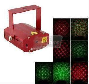 mini RG animation laser Stage light disco light holiday lighing