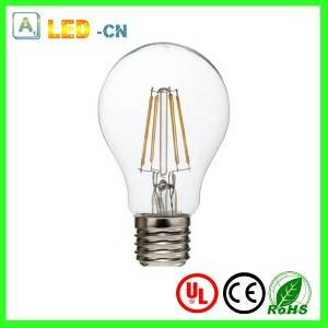 E27/E14 led filament transparent bulb 2W~8W