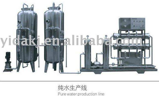 stainless steel pure water production line