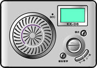 the music player with TF card kk06