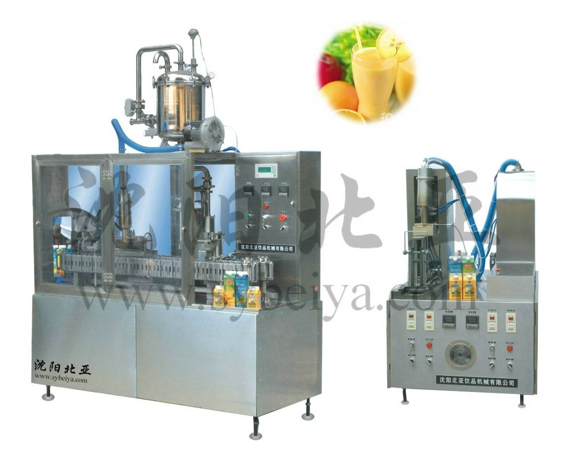 Flavoured Juice Gable-Top Seperate Filling Machinery (BW-1000-2)