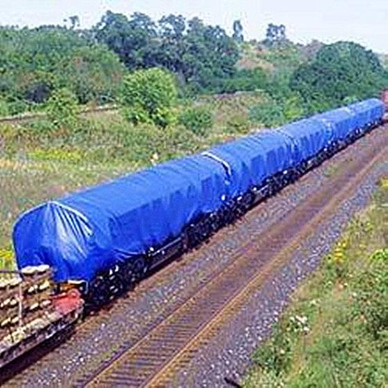 PE Tarpaulin for Train, Train Cover
