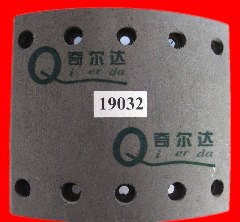 Volvo Brake Lining Vl88 , high temperature resistant , trailer brake drum