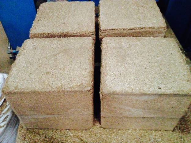 sawdust block