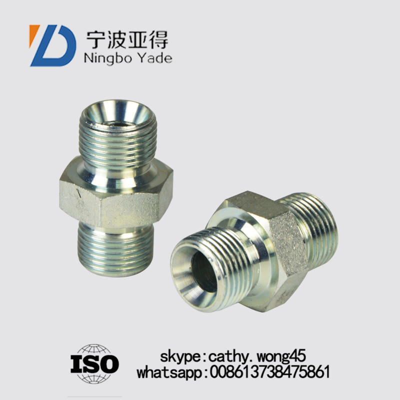 bsp male thread hydraulic Fittings with captive seal
