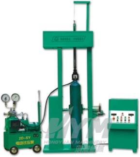 Sell Steel cylinder pressure test loader-unloader