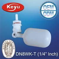 Offering DN8WK-T 1/4 mini plastic float valve