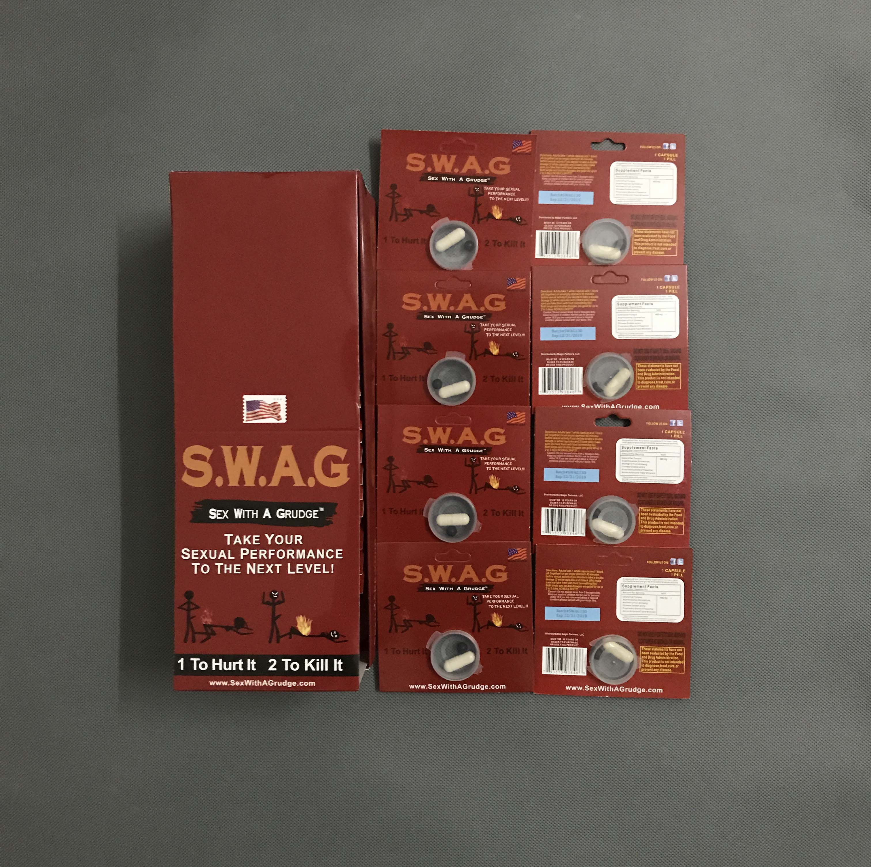 S.W.A.G Sex With A Grudge Good Sexual Performance Sex Capsules
