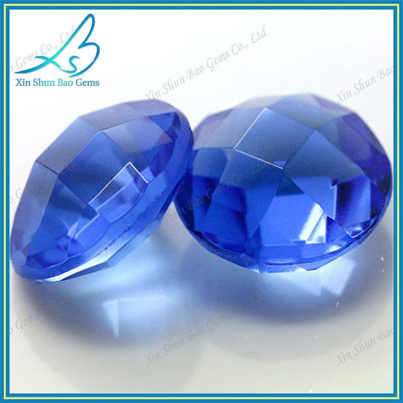 China wholesale glass gemstone bead