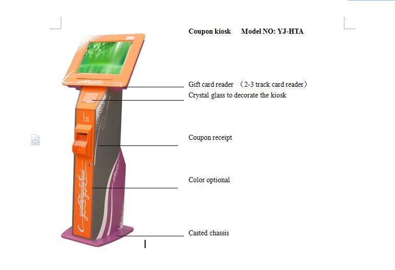 Coupon kiosk