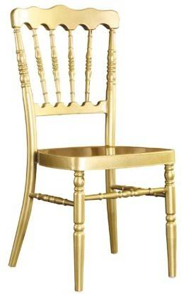 Aluminum napoleon / chateau chair