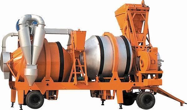 Mobile Asphalt Mixing Plant/Twin Drum GCS-30