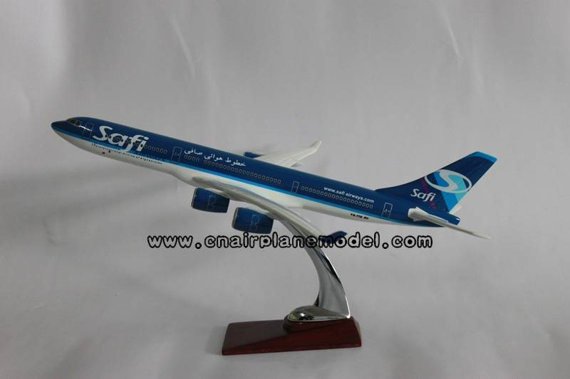 model airplane Airbus340 Safi 40cm