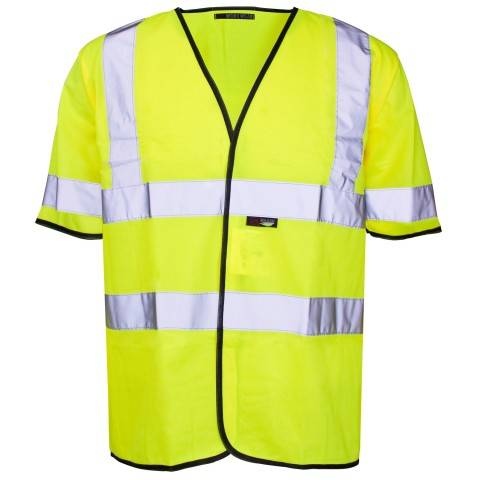 Hi Vis Short Sleeved Vest