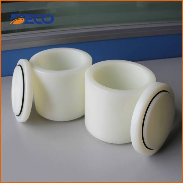 High Density Polyethylene Ball Mill Jar for Planetary Grinder