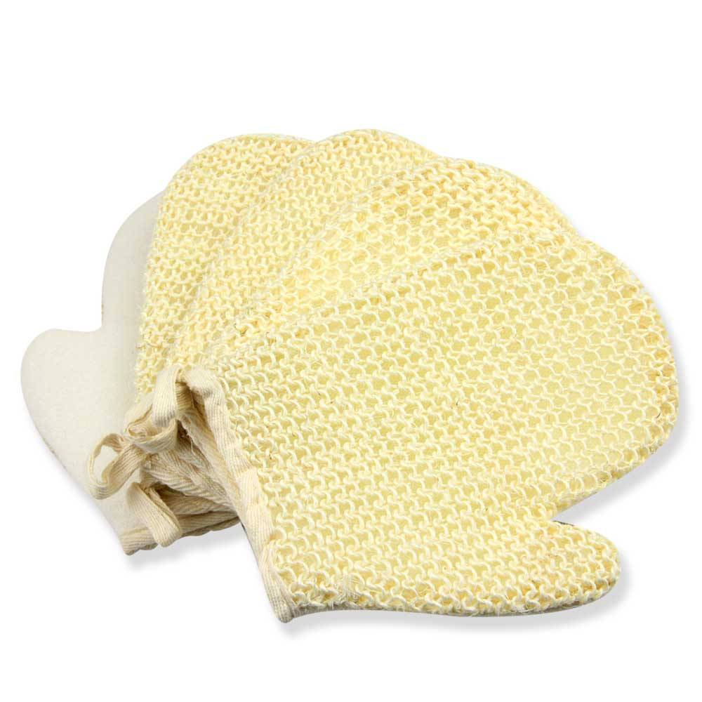 Sisal Bath Mitts and Gloves