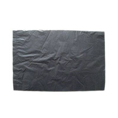 HDPE Black Disposable Plastic loose pack flat Bag