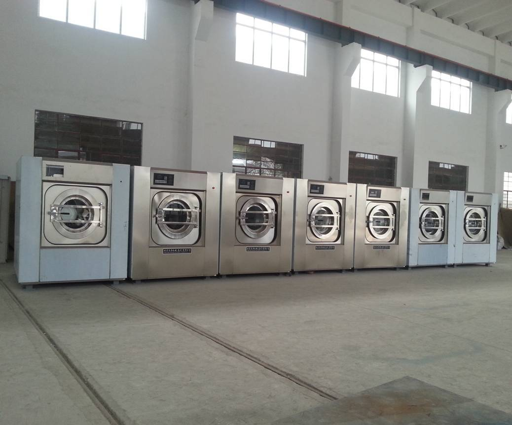 fully automatic jeans industrial washing machine