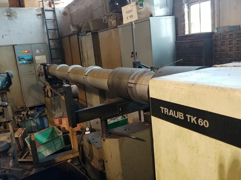 TRAUB TK60 with barfeader