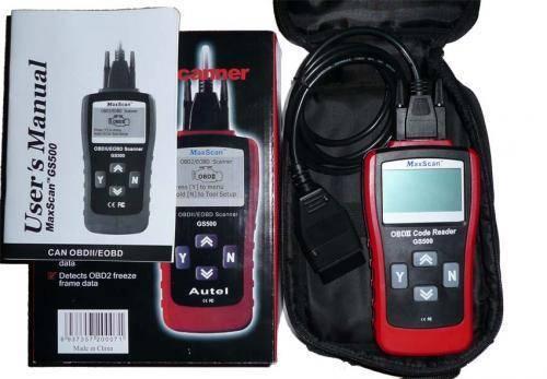 Maxscan GS500 OBD2/EOBD car diagnostic scanner