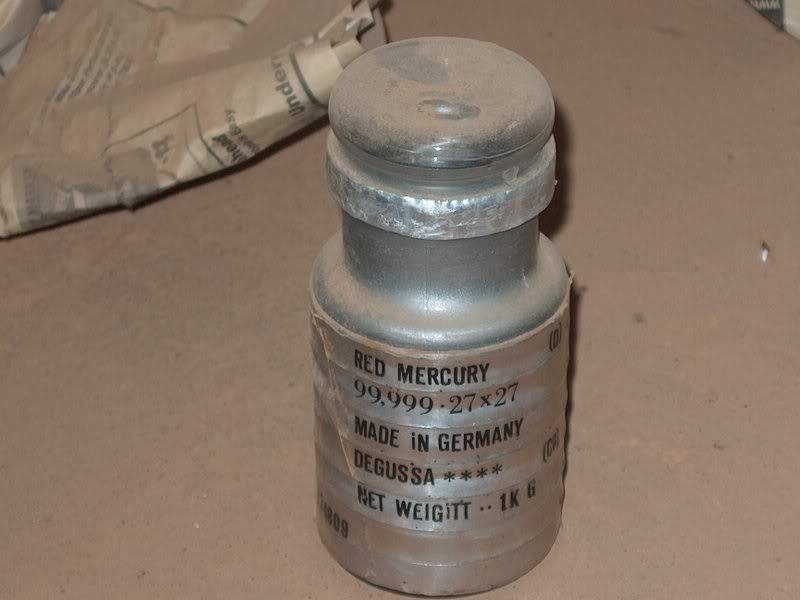 PRIME VIRGIN SILVER LIQUID MERCURY 99.999%, SILVER LIQUID MERCURY, RED MERCURY