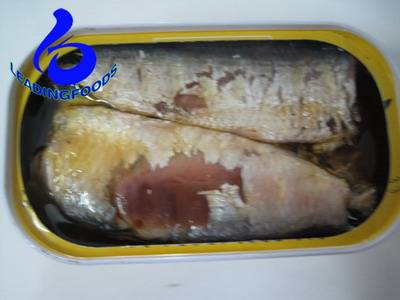 canned sardine in oil 125G