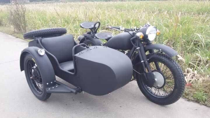 Personal customize bigger engine sidecar