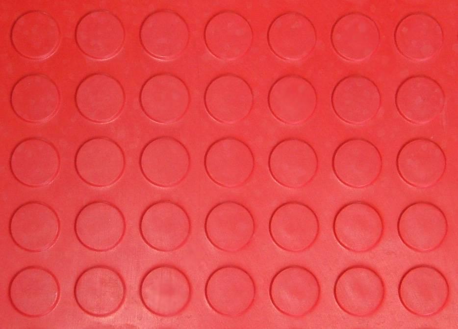 High Round DOT Rubber Sheet