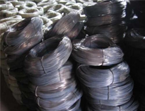 soft black iron wire