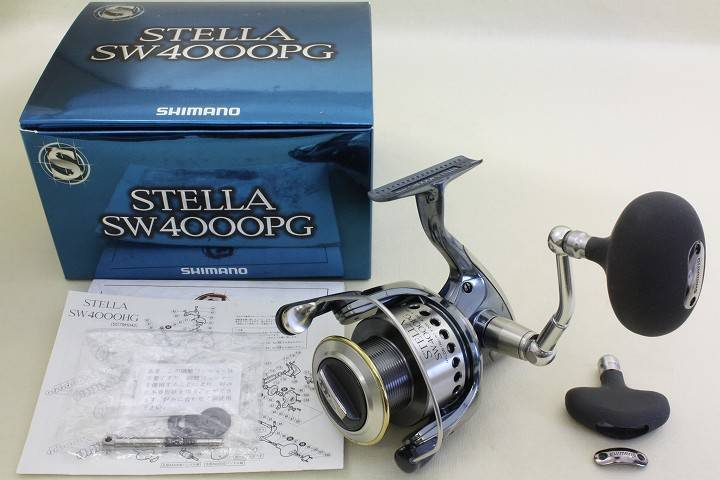 Shimano STELLA SW-4000-PG Spinning Reel