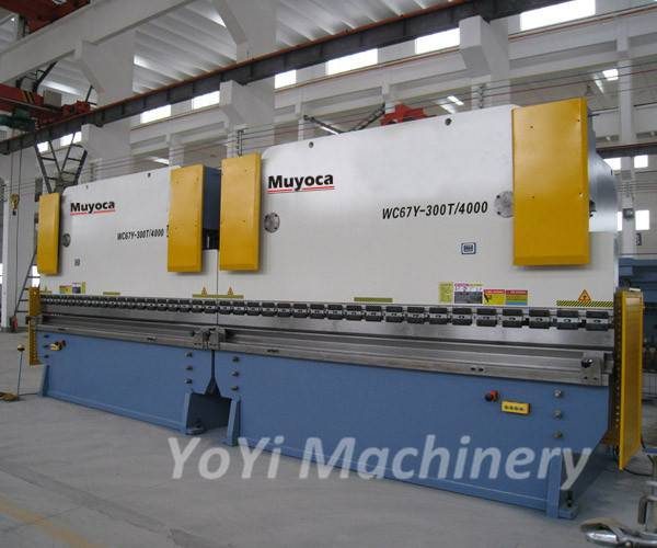 2 set we67k cnc press brake machine 1000 Tons