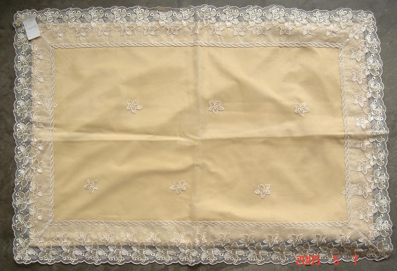 embroidery cloth ,lace,beding