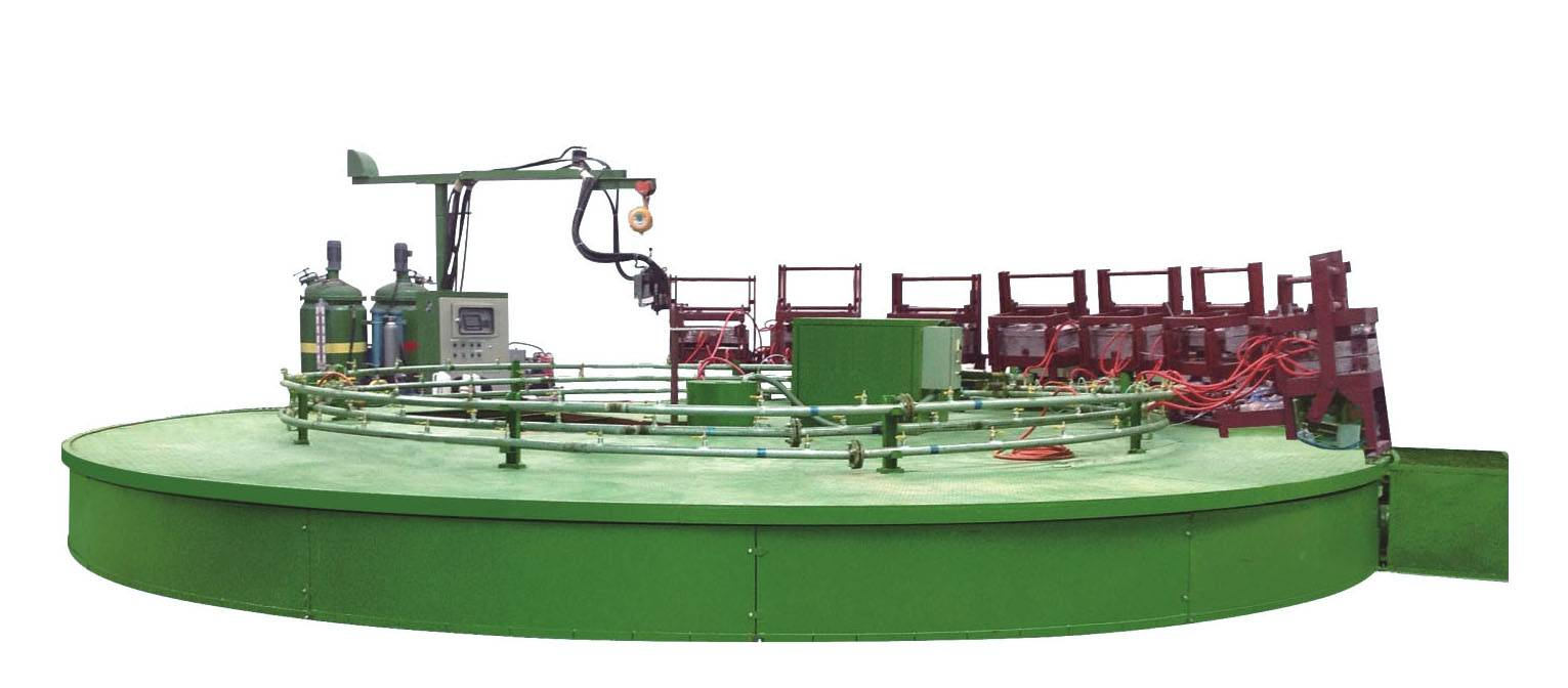 Triple-Material Turntable Type Production Line