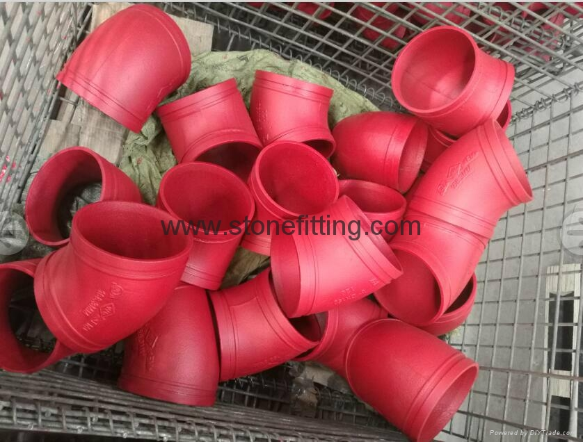 Grooved Pipe Fittings for Fire Protection
