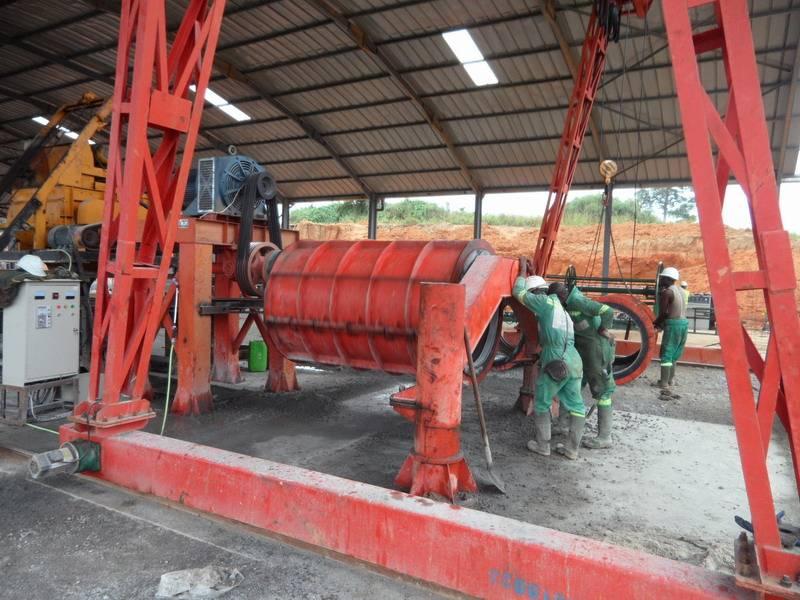 high quality concrete drain pipe machine