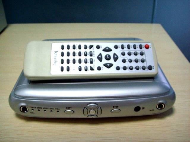 HDD Karaoke MP4 Player-01 B