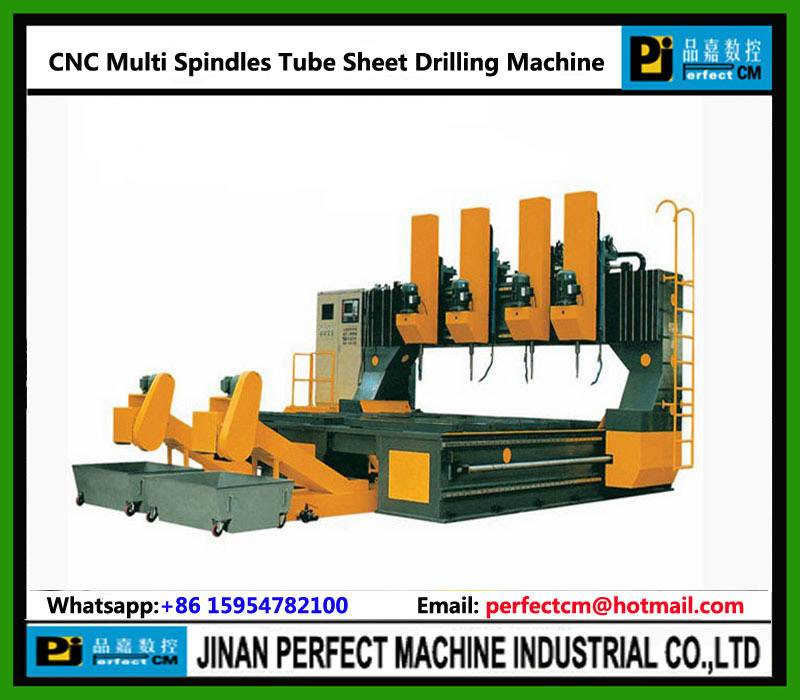 High Speed Multi Spindles Tube Sheet CNC Drilling Machine