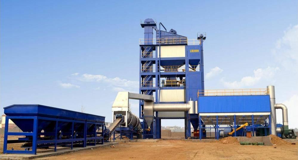 40-400T/H Stationary Forced Asphalt Plant
