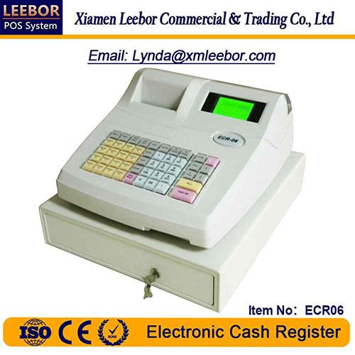 Electronic Cash Register, Supermarket POS Terminal Cashier System, Receipt Thermal Printer ECR06