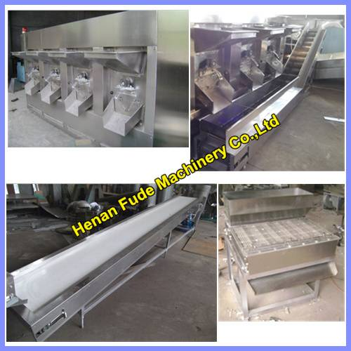Hot selling blanched peanut processing line 600kg/h , peanut peeling line