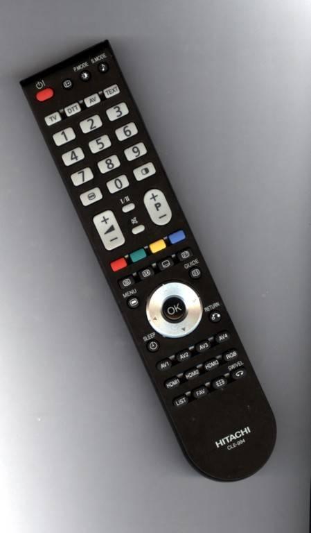 Remote control HITACHI CLE-994 LCD