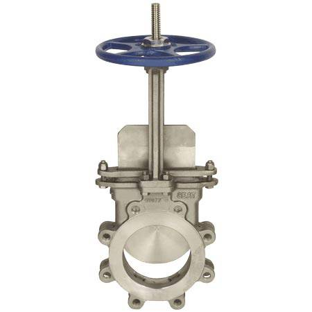 Knife gate valve(stainless steel metal seat)