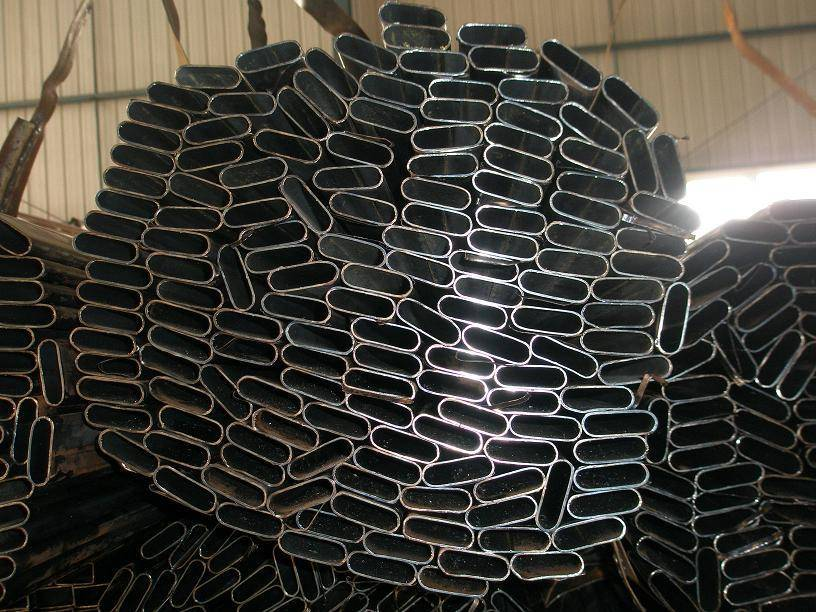 Oval Steel Pipe - Oval Tube - Elliptical Pipe