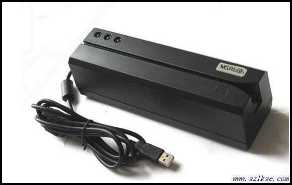 Magnetic Stripe Card Reader/Writer MSR606 completely compatible with MSR205/MSR605.
