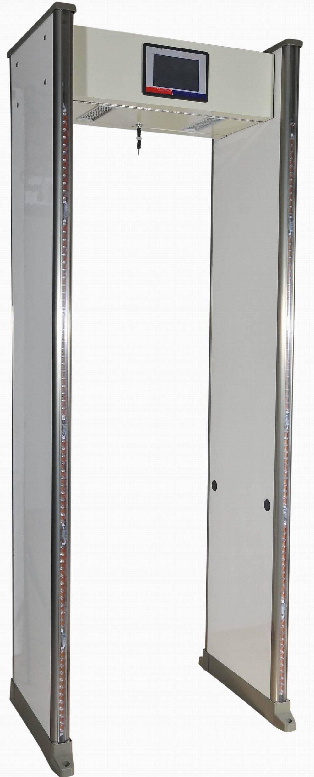 D-2012 New 6zones metal detector