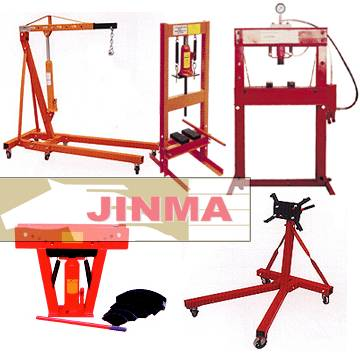 Shop crane,Shop press,Hydraulic pipe bender,Engine Stand