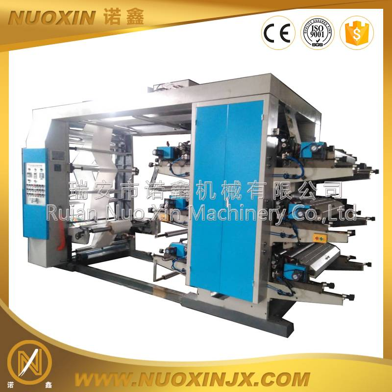NX-41400 4 Color Plastic Flexography Printing Machine