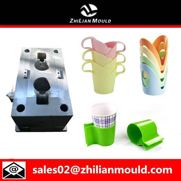 Taizhou custom plastic disposable paper cup holder mould for sale