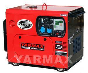 YM6700T-B Air-cooled Diesel Generator